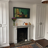 alcove double fitted wardrobes